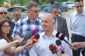 Од прес-конференцијата во поранешната  битолска Касарна